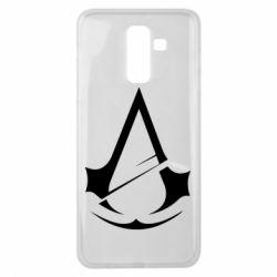 Чохол для Samsung J8 2018 Assassins Creed Logo