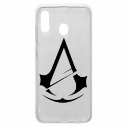 Чохол для Samsung A20 Assassins Creed Logo