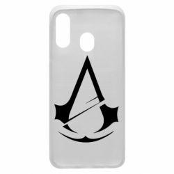 Чохол для Samsung A40 Assassins Creed Logo