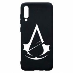 Чохол для Samsung A70 Assassins Creed Logo