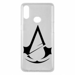 Чохол для Samsung A10s Assassins Creed Logo