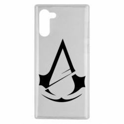 Чохол для Samsung Note 10 Assassins Creed Logo