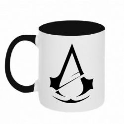 Кружка двоколірна 320ml Assassins Creed Logo