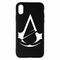 Чохол для iPhone X/Xs Assassins Creed Logo