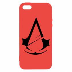Чохол для iphone 5/5S/SE Assassins Creed Logo