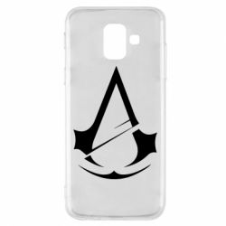 Чохол для Samsung A6 2018 Assassins Creed Logo
