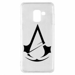 Чохол для Samsung A8 2018 Assassins Creed Logo