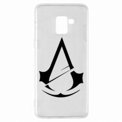 Чохол для Samsung A8+ 2018 Assassins Creed Logo