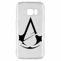 Чохол для Samsung S7 Assassins Creed Logo