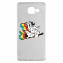 Чохол для Samsung A5 2016 Astronaut on a rocket with a tape recorder