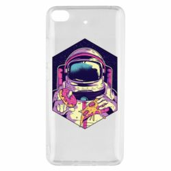 Чехол для Xiaomi Mi 5s Astronaut with donut and pizza