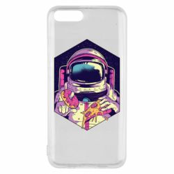 Чехол для Xiaomi Mi6 Astronaut with donut and pizza