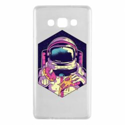 Чехол для Samsung A7 2015 Astronaut with donut and pizza