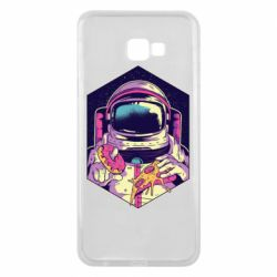 Чехол для Samsung J4 Plus 2018 Astronaut with donut and pizza