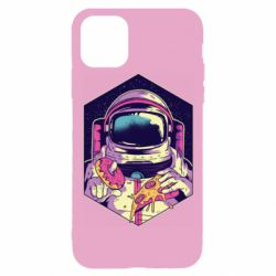 Чехол для iPhone 11 Pro Astronaut with donut and pizza