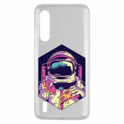 Чехол для Xiaomi Mi9 Lite Astronaut with donut and pizza