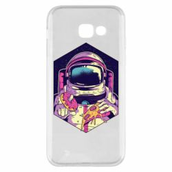Чехол для Samsung A5 2017 Astronaut with donut and pizza