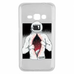 Чехол для Samsung J1 2016 Astronaut with spaces inside