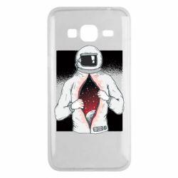 Чехол для Samsung J3 2016 Astronaut with spaces inside