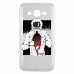 Чехол для Samsung J5 2015 Astronaut with spaces inside