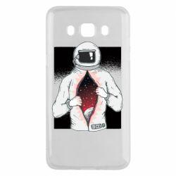 Чехол для Samsung J5 2016 Astronaut with spaces inside