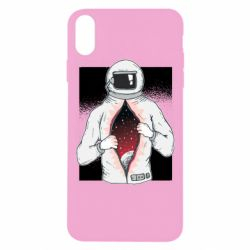 Чохол для iPhone Xs Max Astronaut with spaces inside