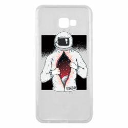 Чехол для Samsung J4 Plus 2018 Astronaut with spaces inside