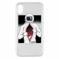 Чохол для iPhone X/Xs Astronaut with spaces inside