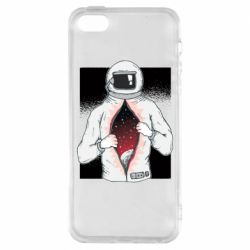 Чохол для iphone 5/5S/SE Astronaut with spaces inside