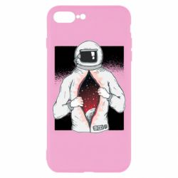 Чохол для iPhone 8 Plus Astronaut with spaces inside