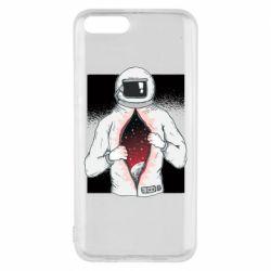 Чехол для Xiaomi Mi6 Astronaut with spaces inside