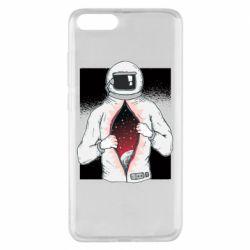 Чехол для Xiaomi Mi Note 3 Astronaut with spaces inside