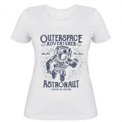 Жіноча футболка Astronaut