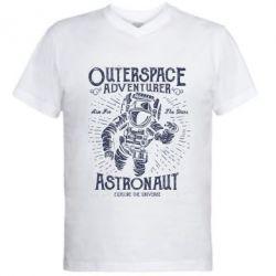 Чоловіча футболка з V-подібним вирізом Astronaut