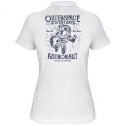 Жіноча футболка поло Astronaut