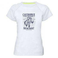 Жіноча спортивна футболка Astronaut