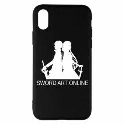 Чохол для iPhone X/Xs Asuna and Kirito