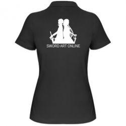 Жіноча футболка поло Asuna and Kirito