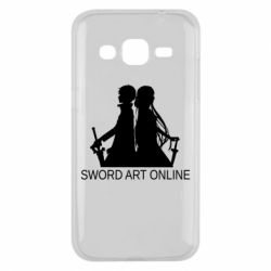 Чохол для Samsung J2 2015 Asuna and Kirito
