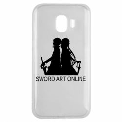Чохол для Samsung J2 2018 Asuna and Kirito