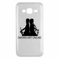 Чохол для Samsung J3 2016 Asuna and Kirito