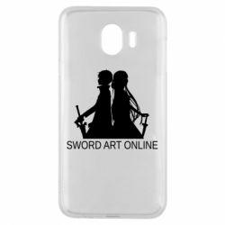 Чохол для Samsung J4 Asuna and Kirito