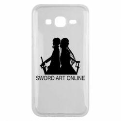 Чохол для Samsung J5 2015 Asuna and Kirito