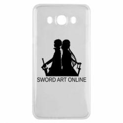 Чохол для Samsung J7 2016 Asuna and Kirito