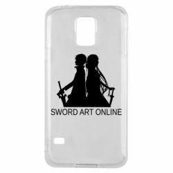 Чохол для Samsung S5 Asuna and Kirito