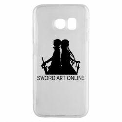Чохол для Samsung S6 EDGE Asuna and Kirito