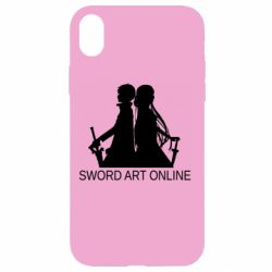 Чохол для iPhone XR Asuna and Kirito