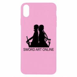 Чохол для iPhone Xs Max Asuna and Kirito