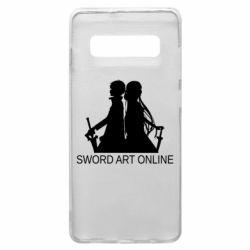 Чохол для Samsung S10+ Asuna and Kirito