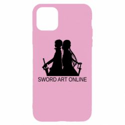 Чохол для iPhone 11 Asuna and Kirito